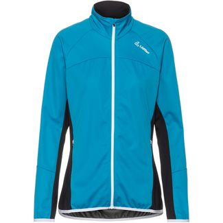 Löffler Alpha WS Light Laufjacke Damen topaz blue