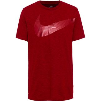 Nike Swoosh Energy Funktionsshirt Herren university red-black