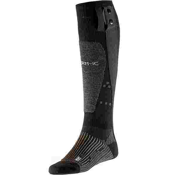 Therm-ic Merino Powersock Set Heat Uni + S-Pack Skisocken schwarz-grau