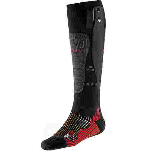 Therm-ic Merino Powersock Heat Men v2 Skisocken Herren rot-schwarz-grau