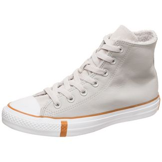 CONVERSE Chuck Taylor All Star Faux Shearling Sneaker Herren hellgrau / weiß