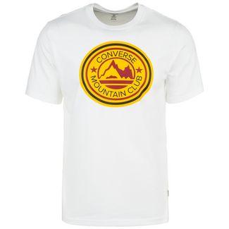 CONVERSE Mountain Club Patch Graphic T-Shirt Herren weiß