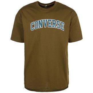 CONVERSE Oversized Collegiate Graphic T-Shirt Herren oliv