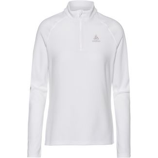 Odlo Bernina Fleecepullover Damen white