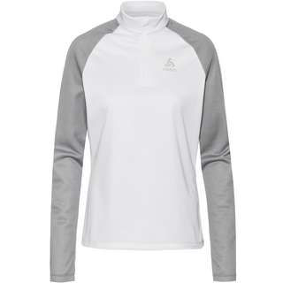 Odlo Planches Funktionsshirt Damen white-grey melange