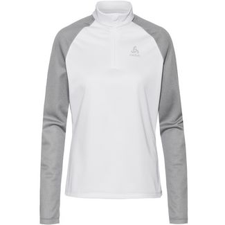 Odlo Planches Funktionsshirt Damen white-grey melange