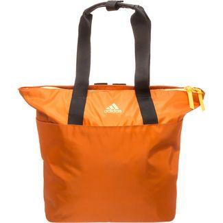 adidas ID Tote Sporttasche hellbraun / orange