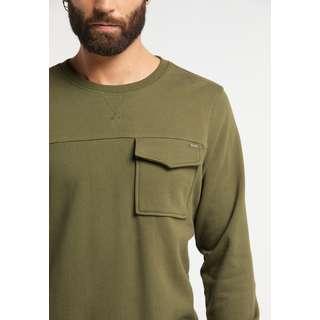 DreiMaster Sweatshirt Herren oliv