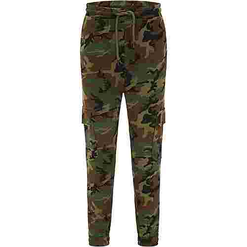 TUFFSKULL Sweathose Herren camouflage aop