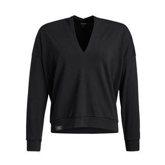 Khujo AZIZE Langarmshirt Damen schwarz