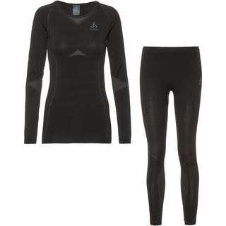 Odlo PERFORMANCE EVOLUTION WARM Wäscheset Damen black-odlo graphite grey