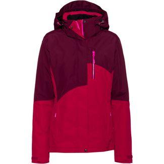 ICEPEAK Bayfield Funktionsjacke Damen burgundy