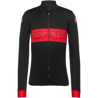 castelli PROLOGO VI Fahrradtrikot Herren black-red-black