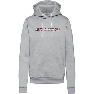 Tommy Sport Hoodie Herren grey heather