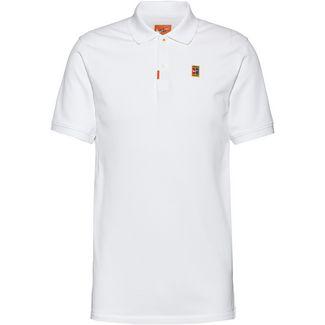 Nike HERITAGE SLIM Poloshirt Herren white
