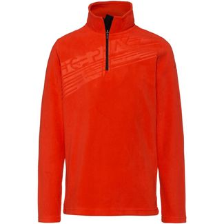 ICEPEAK HAEMON Layerlangarmshirt Kinder coral-red