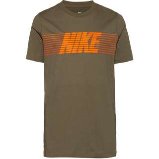 Nike NSW Therma T-Shirt Kinder medium-olive