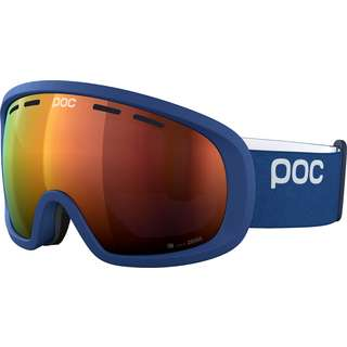POC Fovea Clarity Spectris Orange Skibrille lead blue