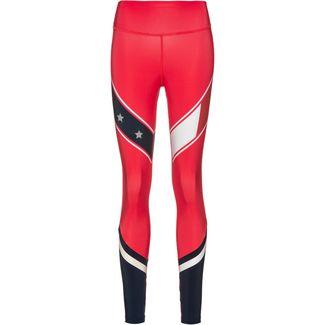 Tommy Sport Leggings Damen hibiscus
