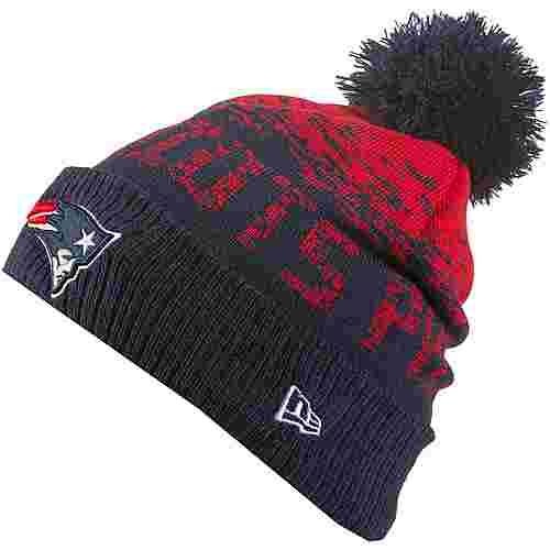 New Era New England Patriots Bommelmütze blue-red-otc