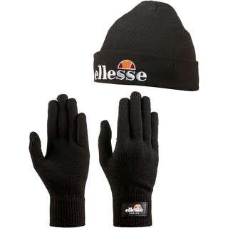 Ellesse Velly & Bubb Set Mütze und Handschuhe black