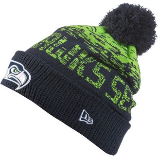 New Era Seattle Seahawks Bommelmütze blue-green-otc