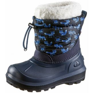 Viking Snowfall Fox Stiefel Kinder navy-navy