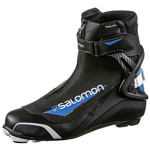 Salomon RS8 PROLINK Langlaufschuhe black blue im Online Shop