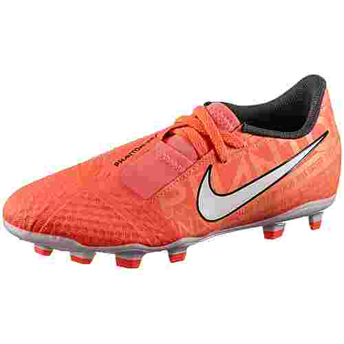 Nike JR PHANTOM VENOM ACADEMY FG Fußballschuhe Kinder bright mango-white-orange pulse