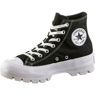 CONVERSE CTAS Lugged Sneaker Damen black-white-black