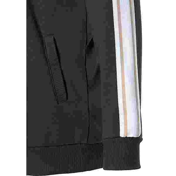 Bench Sweatjacke Damen schwarz-weiß