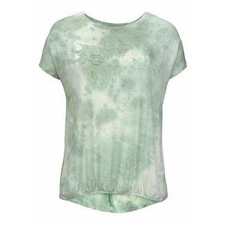 Bench Printshirt Damen grün-batik