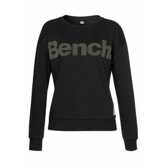Bench Sweatshirt Damen schwarz-taupe