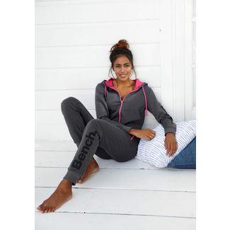 Bench Jumpsuit Damen anthrazit-meliert