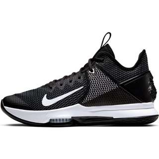 Nike LeBron Witness IV Basketballschuhe Herren black-black-white-photoblue