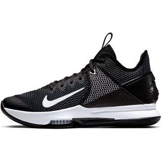 Nike LeBron Witness IV Basketballschuhe Herren black-black-white-photoblue