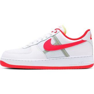 Nike Air Force 1 ´07 LV8 Sneaker white-bright crimson-barely volt