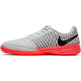 Nike LUNARGATO II Fußballschuhe platinum tint-black-bright crimson