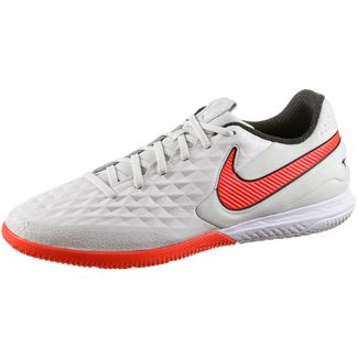 Nike TIEMPO REACT LEGEND 8 PRO IC Fußballschuhe Herren platinum tint-bright crimson-white