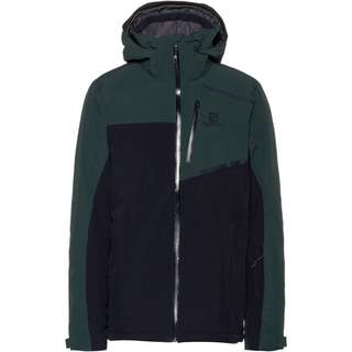 Salomon Strike Skijacke Herren green gab-night sky