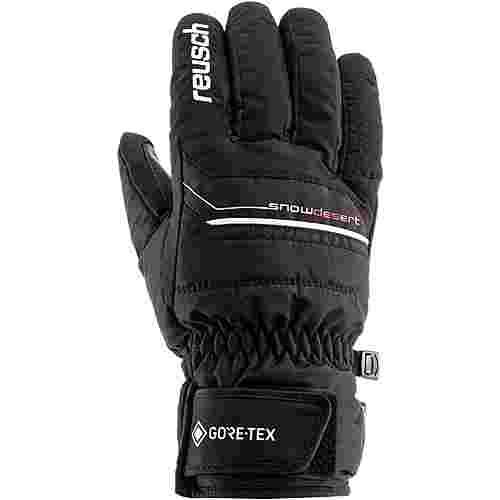 Reusch Snow Desert GTX Skihandschuhe black-white