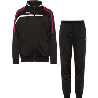 JAKO Performance Trainingsanzug Kinder schwarz-weiß-rot