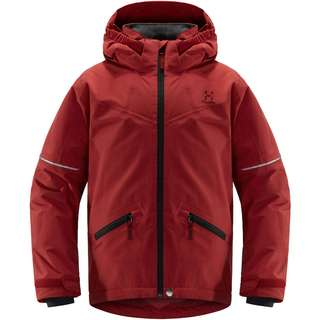 Haglöfs Niva Insulated Jacket Hardshelljacke Kinder Brick Red
