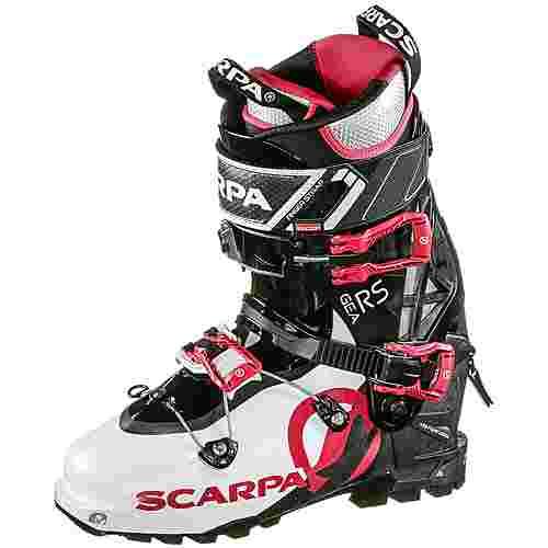 Scarpa Gea RS Tourenskischuhe Damen white-black-warm red
