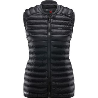 Haglöfs Essens Mimic Vest Outdoorweste Damen True Black/Magnetite