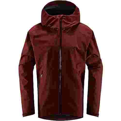 Haglöfs GORE-TEX® Merak Jacket Hardshelljacke Herren Maroon Red