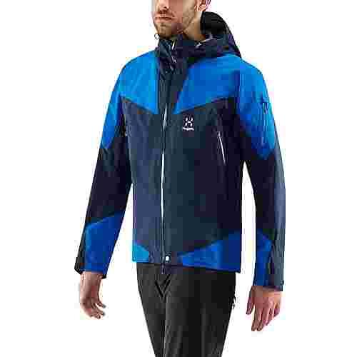 Haglöfs GORE-TEX® Roc Spire Jacket Hardshelljacke Herren Tarn Blue/Storm Blue