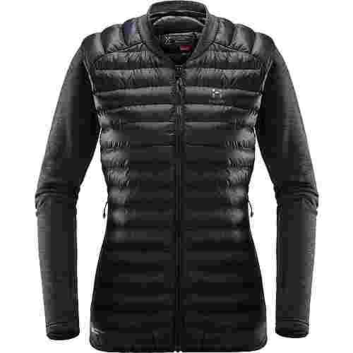 Haglöfs Mimic Hybrid Jacket Outdoorjacke Damen True Black/Magnetite