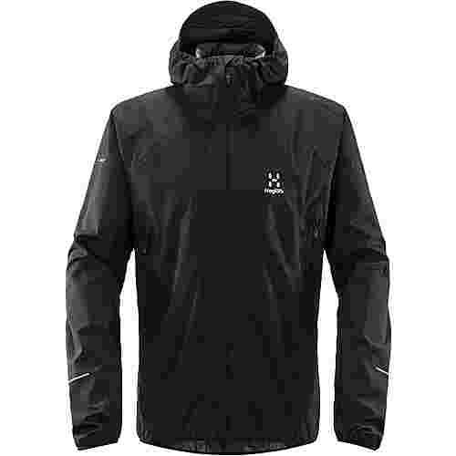 Haglöfs L.I.M PROOF Multi Jacket Hardshelljacke Herren True Black Solid