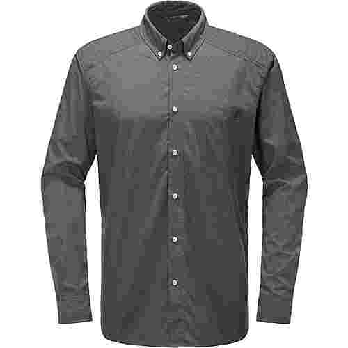 Haglöfs Vejan LS Shirt Outdoorhemd Herren Magnetite